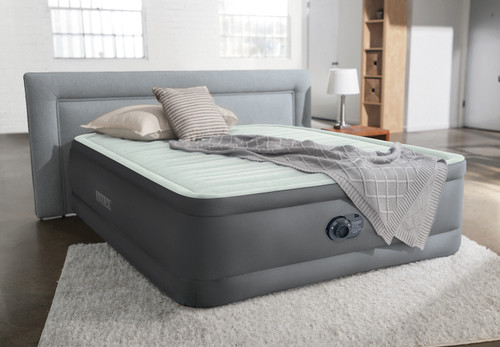 18in Queen Dura-Beam Premaire I Elevated Airbed with QuickFill Plus Internal Pump