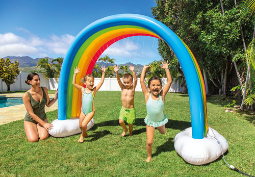 Rainbow Cloud Sprinkler
