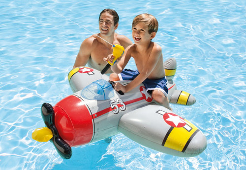 Water Gun Plane Ride-Ons, 57537EP
