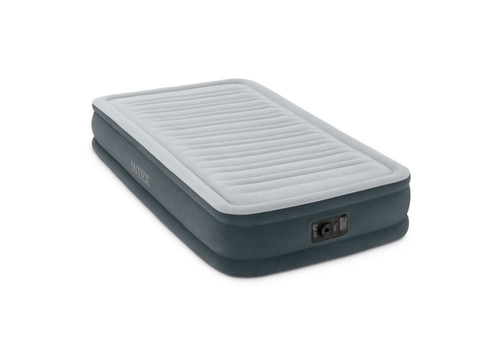 13in Twin Comfort-Plush Mid Rise Airbed with Built-In Electric Pump
