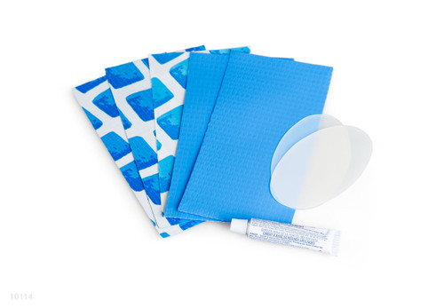10114, Repair Kit for Above Ground Pools, Blue