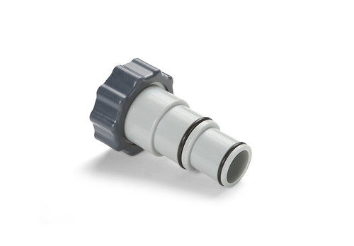 10849, Adapter A with Collar (To Adapt Small Hose [1-1/4in or 32mm] to Plunger Valve)