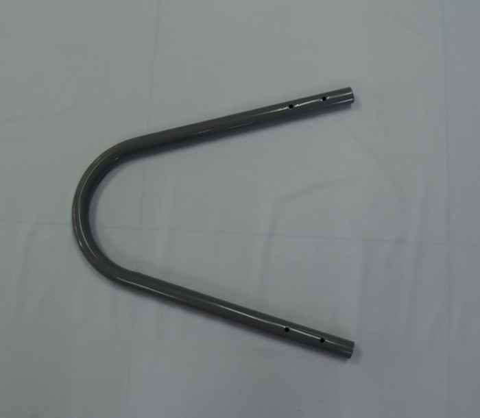 12633, U-Shaped Top Rail for 36in Grey One-Section Ladder