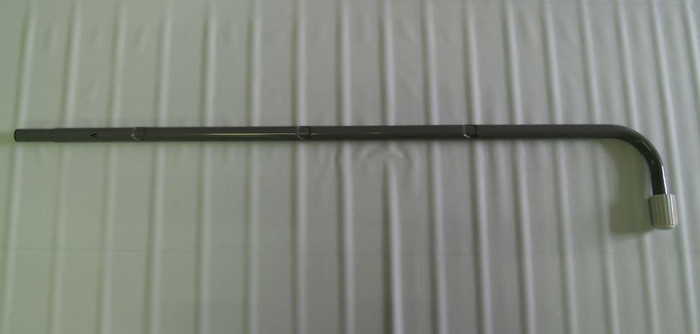 """12670A, A Side Lower J-Leg (Marked """"A"""") for 48in Removeable Steps Ladder"""