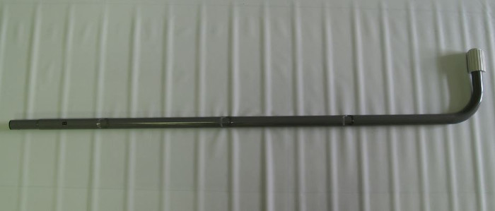 "12670B, A Side Lower J-Leg (Marked ""B"") for 48in Removeable Steps Ladder"