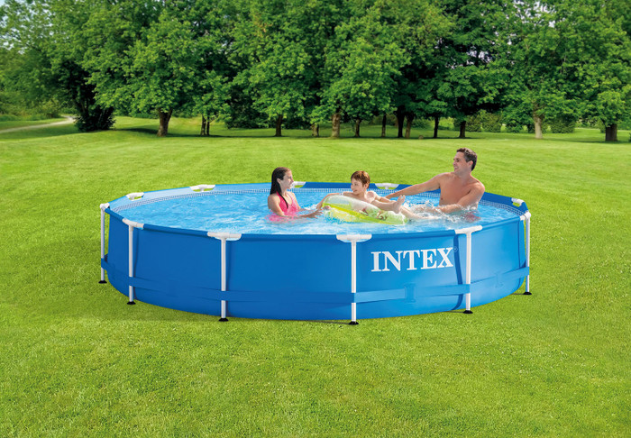 12ft X 30in Metal Frame Pool Set