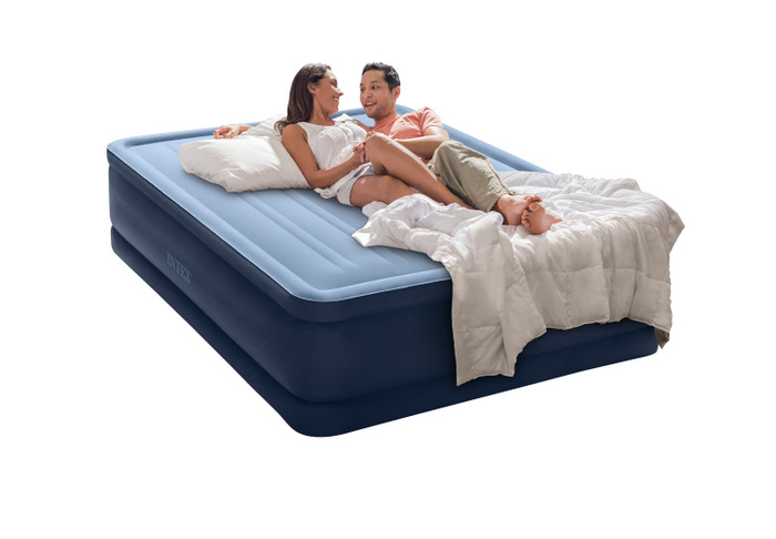 20in Queen Dream Support Airbed with Built-In Electric Pump, 64197MZ
