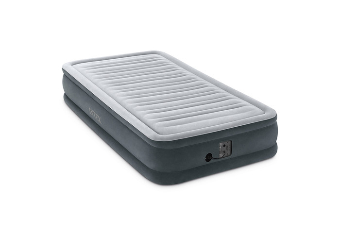 13in Twin Dura-Beam Mid-Rise Premium Comfort Airbed with Internal Pump