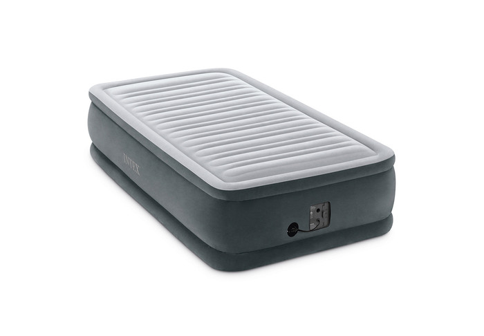 18in Twin Dura-Beam Comfort-Plush Airbed with Internal Pump