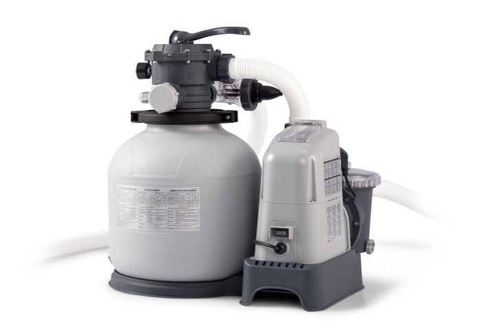 Krystal Clear Sand Filter Pump Saltwater System Cg 28675 110 120v