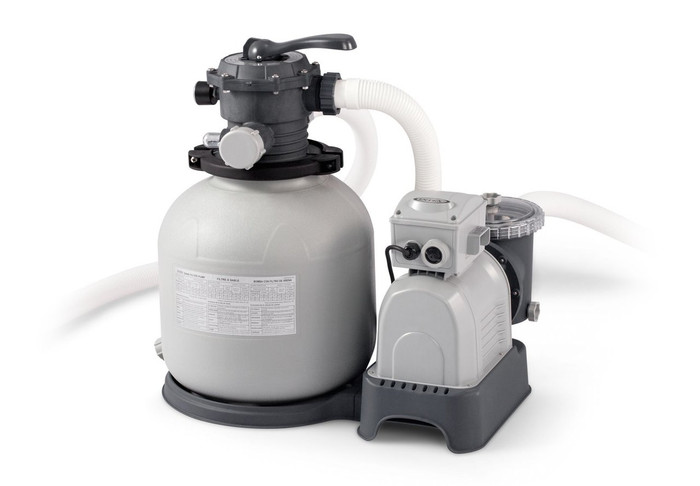 2800 Gph Krystal Clear Sand Filter Pump, 110-120V with GFCI (2018)