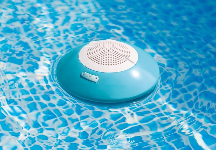 Floating Pool Speaker with LED Light