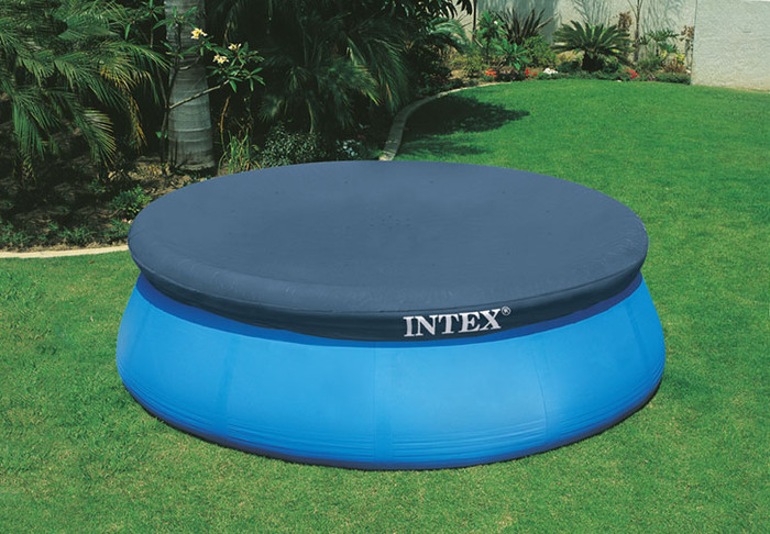 8ft X 12in Easy Set Pool Cover - Intex Recreation Corp.