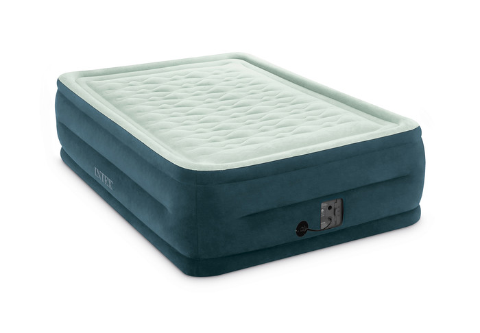 22in Full Dura-Beam Dream Lux Pillowtop Airbed with Internal Pump, 64747WA