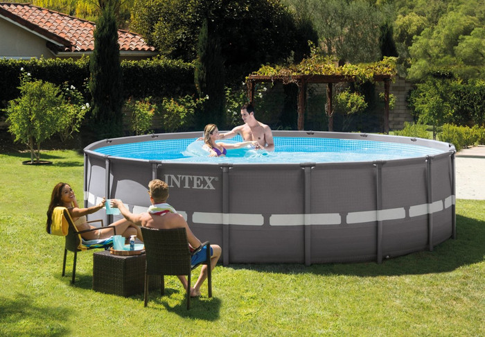 16ft X 48in Ultra Frame Pool Set with Cartridge Filter Pump