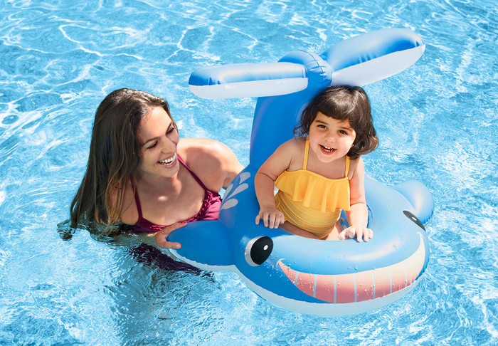 Jolly Whale Shaded Baby Float
