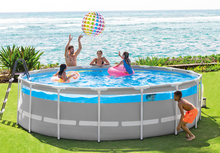 16ft X 48in Clearview Prism Frame Premium Pool Set