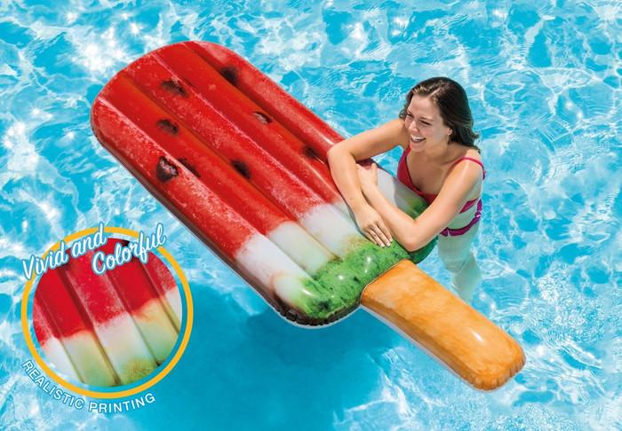 Watermelon Popsicle Float