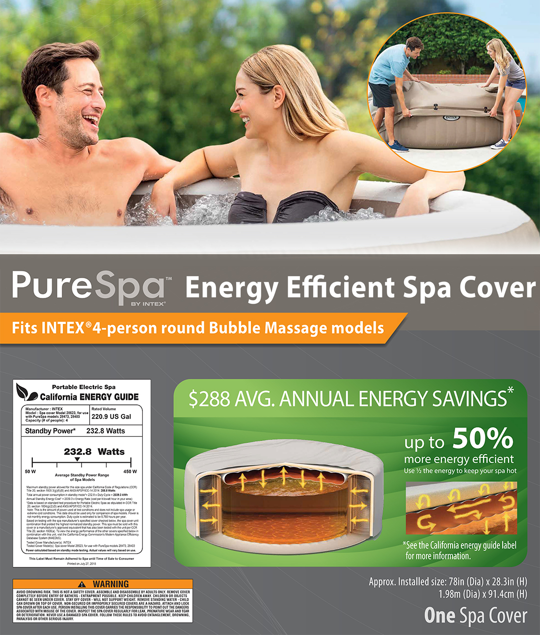 Energy Efficient Spa Cover