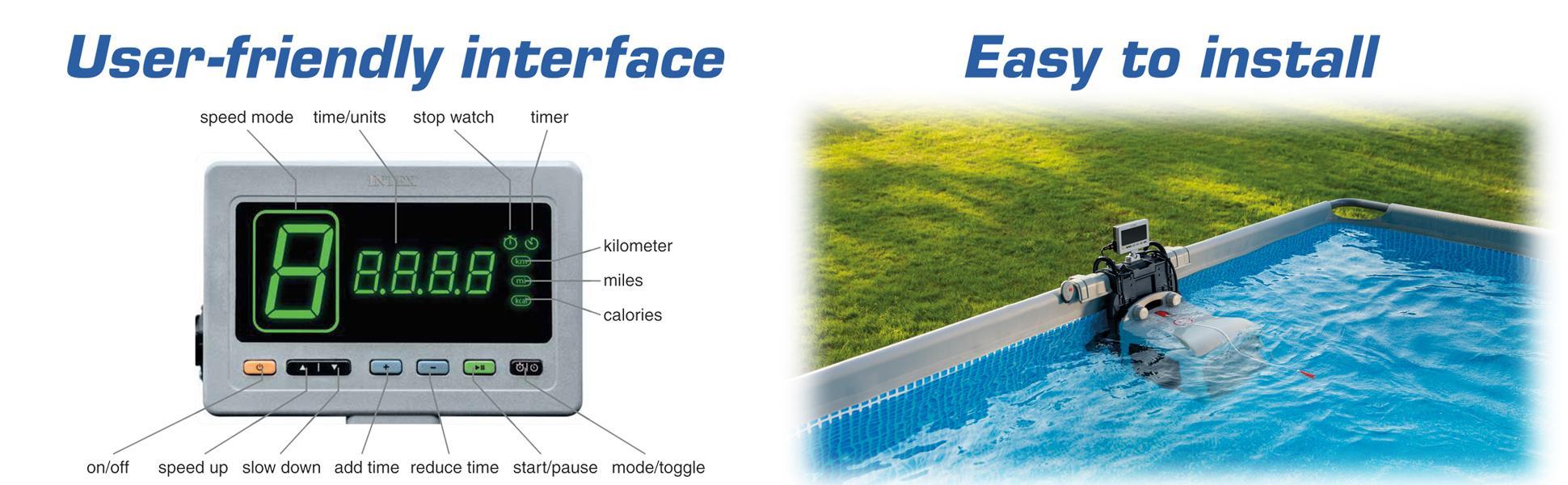 Intex Hydro Flow Swim Trainer