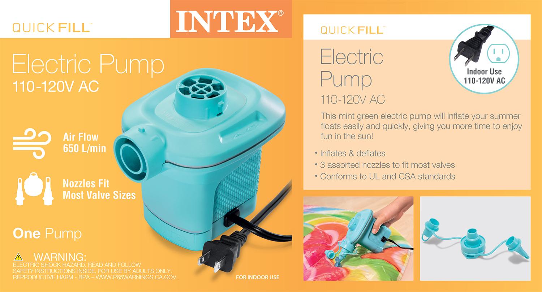 Quick-Fill AC Electric Pump