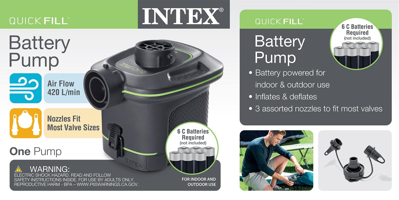Quick-Fill Battery Air Pump, 14.8CFM