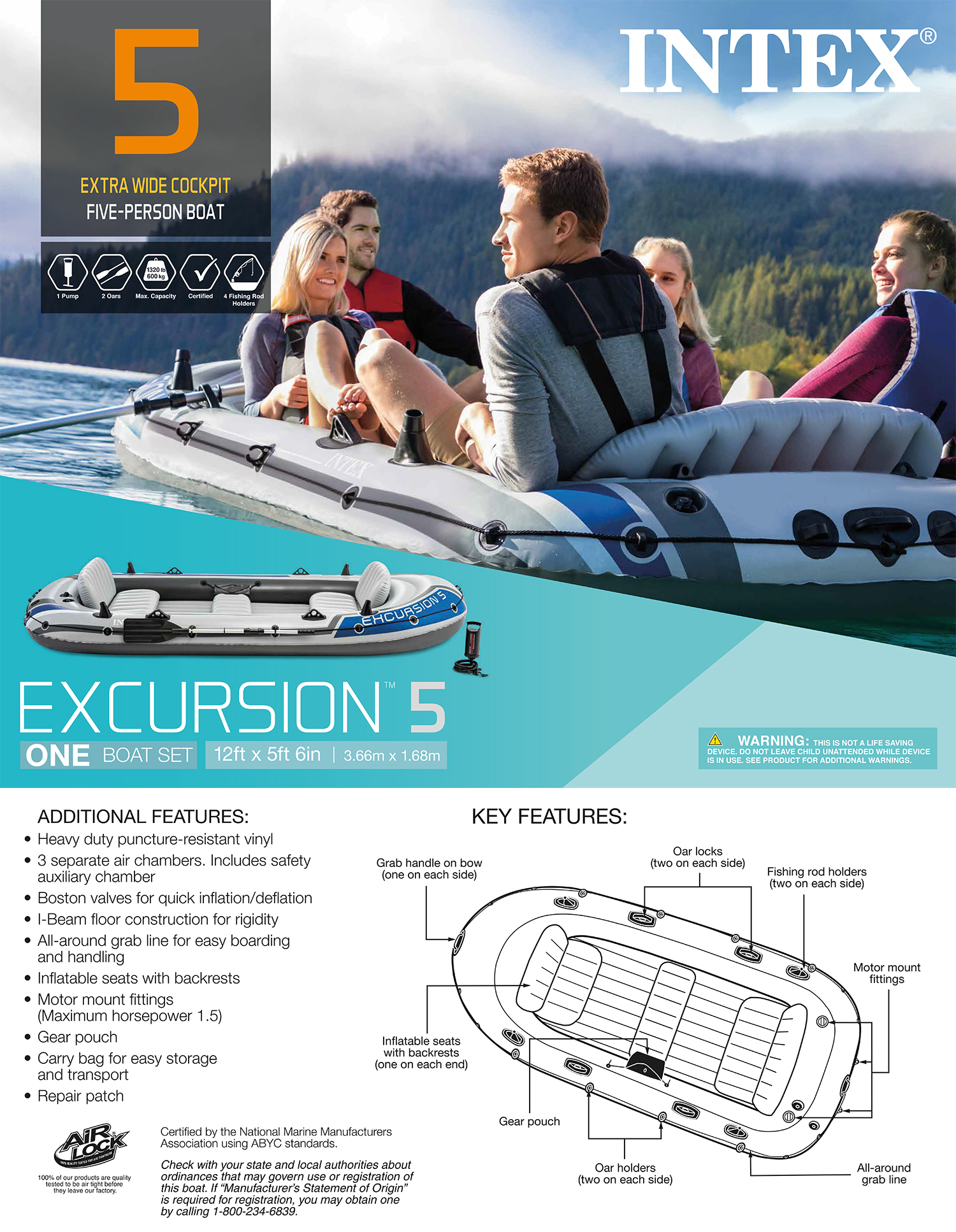 Excursion 5 Boat Set