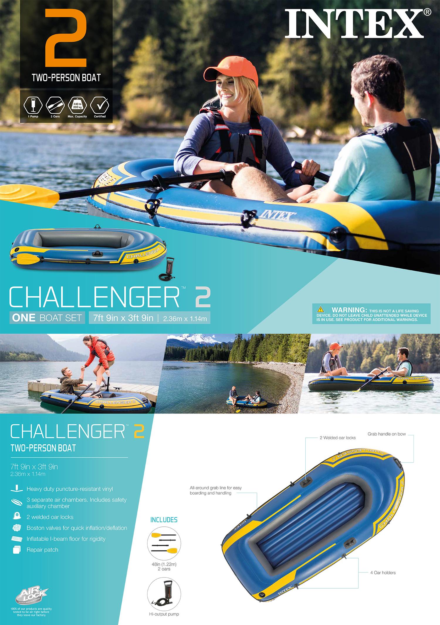 Challenger 2 Boat Set