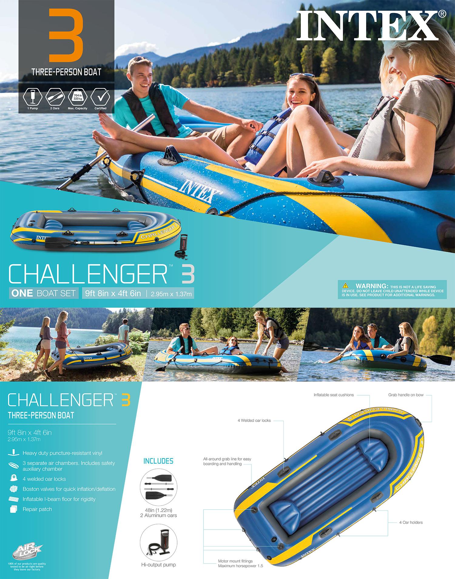 Challenger 3 Boat Set