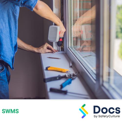 Glass (Window/Door) Installation SWMS | Safe Work Method Statement