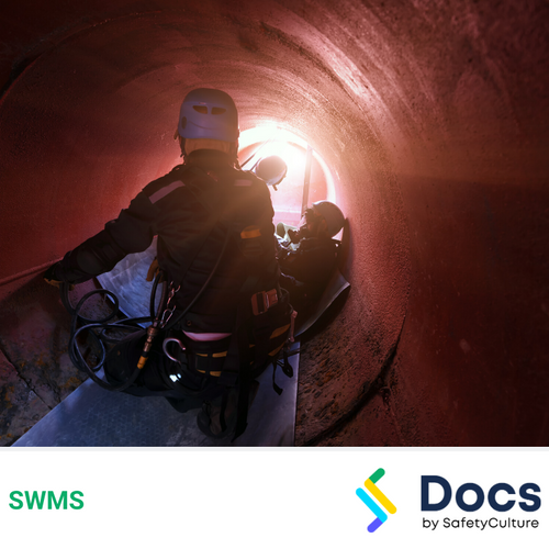 Confined Spaces Rescue SWMS | Safe Work Method Statement