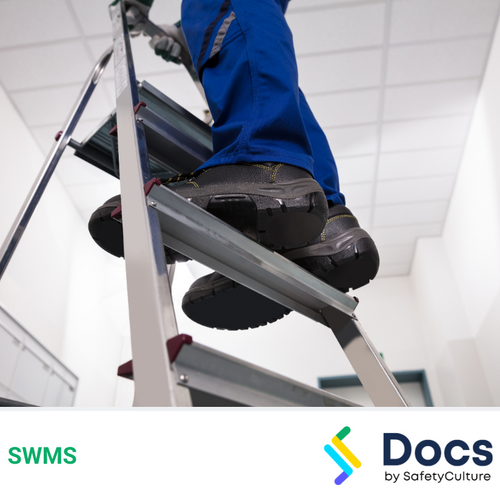 Heights (Ladders) SWMS | Safe Work Method Statement