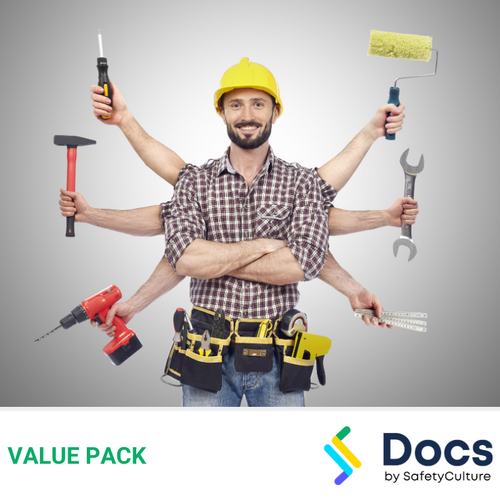 Handyman SWMS | Safe Work Method Statement Value Pack