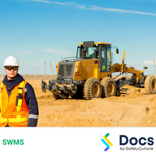 Grader Operation SWMS | Safe Work Method Statement
