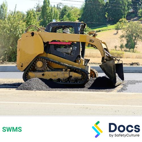 Track Loader/Drott Operation SWMS | Safe Work Method Statement