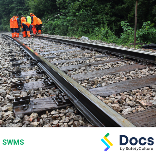 Rail Corridor (Vegetation Control) SWMS | Safe Work Method Statement