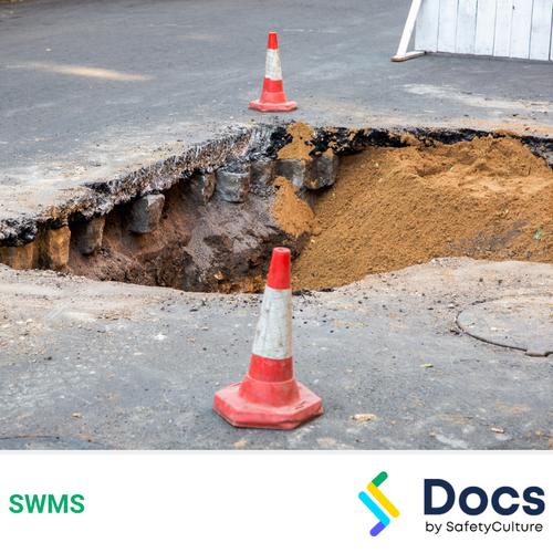 Make Safe (Sink Hole) SWMS | Safe Work Method Statement