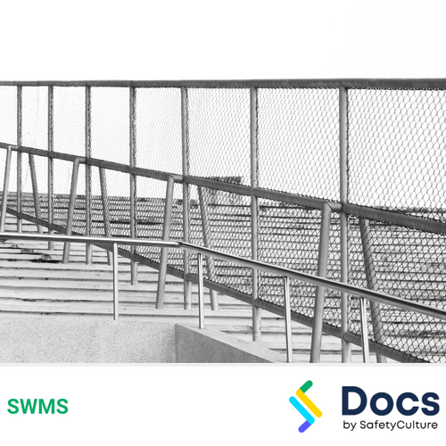 Fencing (Steel Post & Rail) SWMS | Safe Work Method Statement