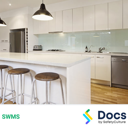 Glass Splash-back Installation SWMS | Safe Work Method Statement