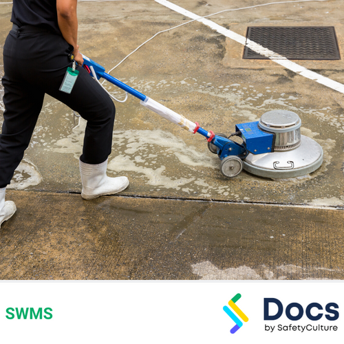Cleaning (Hard Floors) SWMS | Safe Work Method Statement