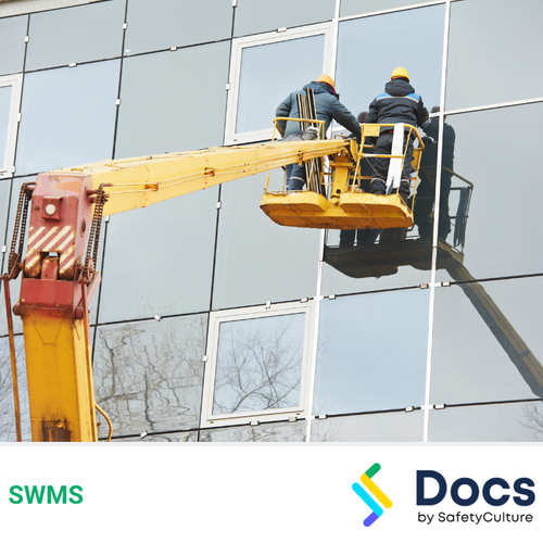 Glass Panel Installation (From EWP) SWMS | Safe Work Method Statement