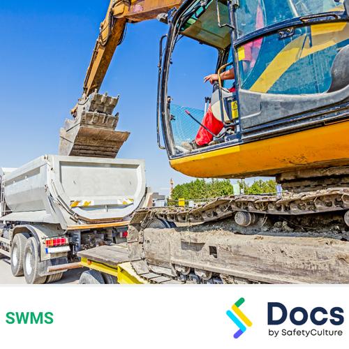 Mobile Plant (Tipper & Tag-along Trailer) SWMS | Safe Work Method Statement