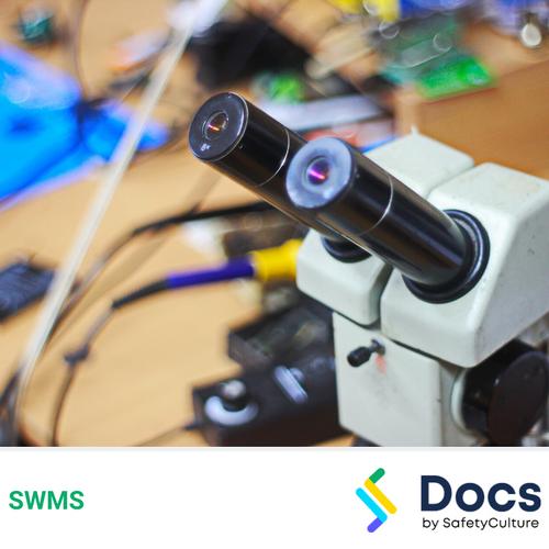 Bio-medical Engineering Repairs (Optical) SWMS   Safe Work Method Statement