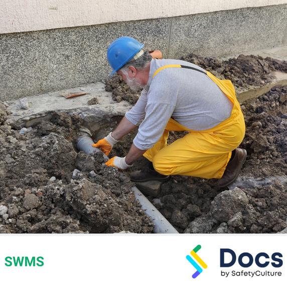 Plumbing (Sewage & Drainage) SWMS | Safe Work Method Statement