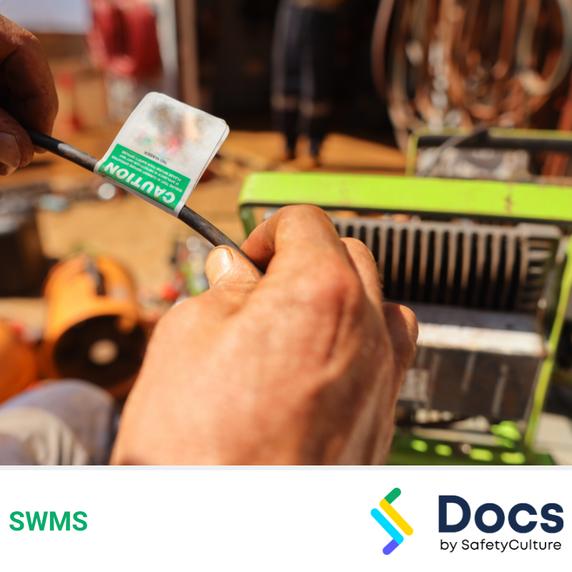Test & Tag (Cords) SWMS | Safe Work Method Statement