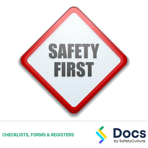 Safe Work Method Statement (SWMS) Template