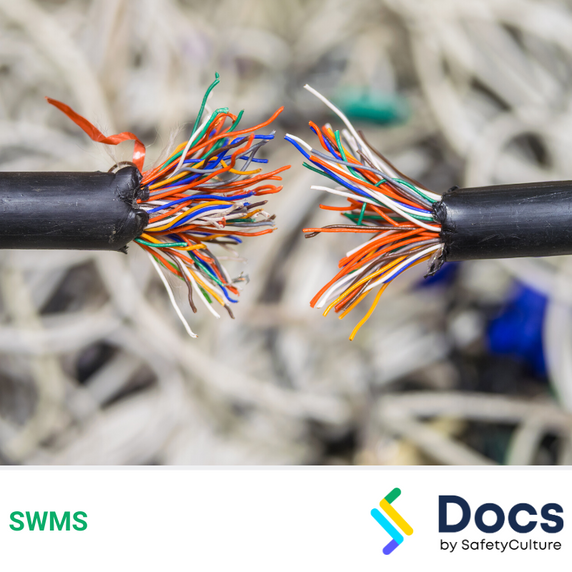 Communications (Cable Jointing - Fibre Optic/Copper) SWMS | Safe Work Method Statement