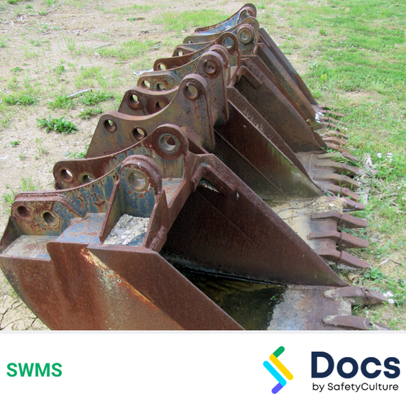 Mobile Plant (Attachments) SWMS   Safe Work Method Statement