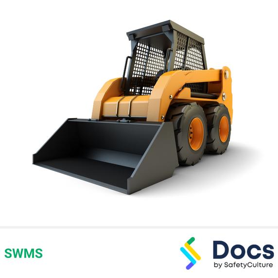 Bobcat/Skid-Steer Loader Operation SWMS   Safe Work Method Statement