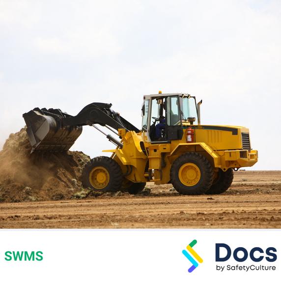 Front-end Loader SWMS | Safe Work Method Statement